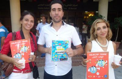 Sotefi, fabricant des cahiers Selecta soutient l'association Kolna Tounes pour une action de sensibilisation aux valeurs citoyennes au profit des élèves tunisiens