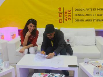 PARTENARIAT AVEC L'ISBAT(INSTITUT SUPÉRIEUR DES BEAUX ARTS) ,CONCOURS «DESIGN AND SCHOOL EXPERIENCE»
